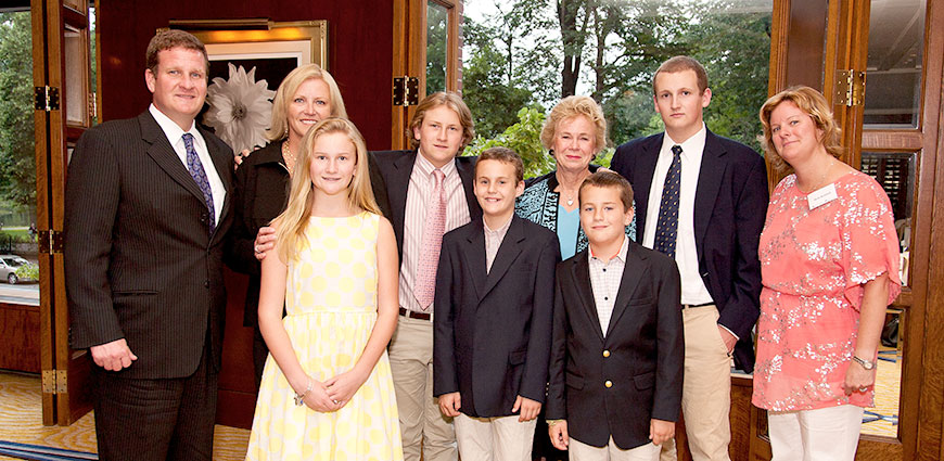 Photo of Hale family